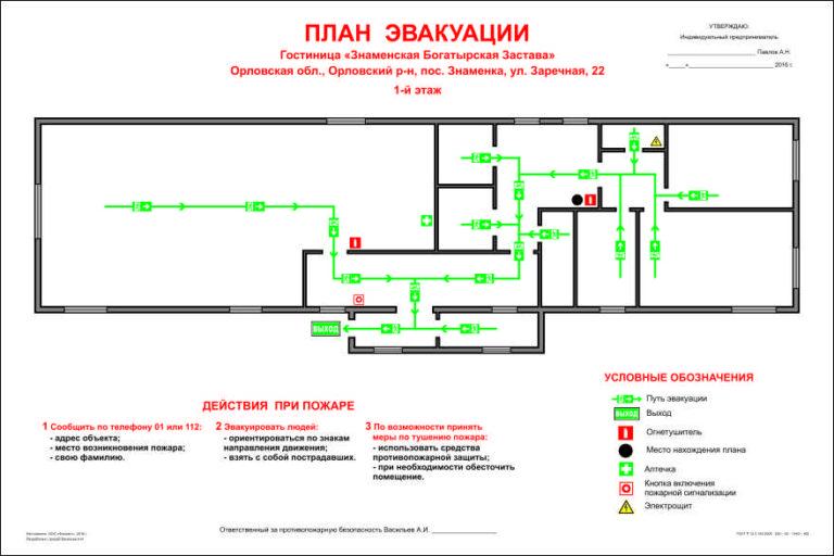 15571 план эвакуации Павлов А.Н. 15